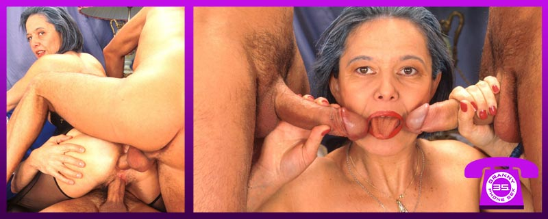 Cheap Anal Phone Sex with Hot Grannies