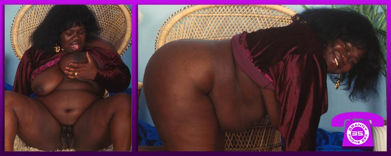 Cock-Sucking Ebony Granny Chat